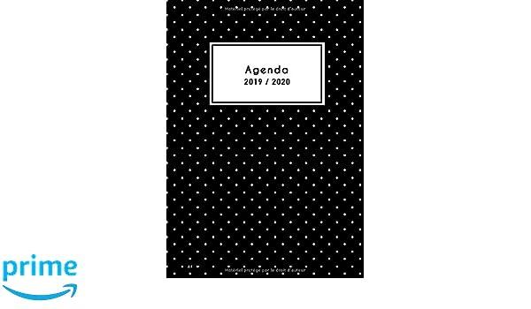 Agenda A4 2019 2020: Agenda Semainier 18 Mois 2019 / 2020 ...