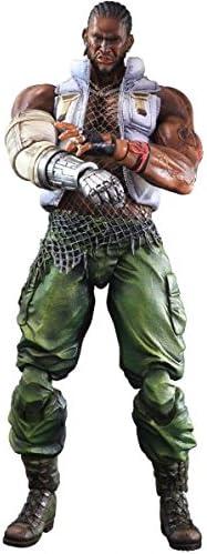 "Final Fantasy VII 7 Advent Children /""Barret Wallace/"" Play Arts Kai Action Figure"