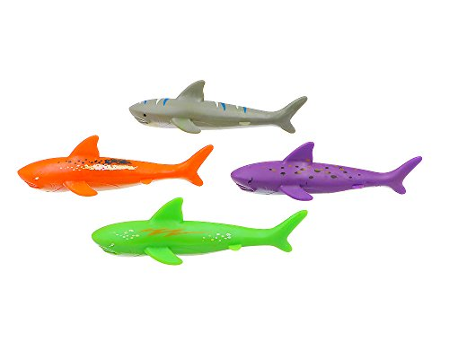 haomsj Swimming Pool Toys Dive Torpedo-Shark -