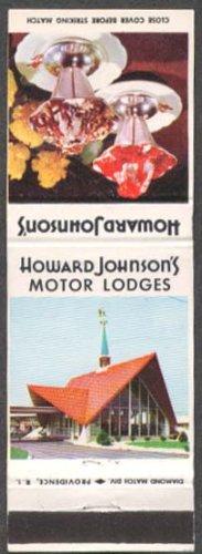 Cream Ice Howard Johnsons (Howard Johnson Ice Cream & Motor Lodge matchcover)