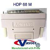 SCSI External Terminator, HPDB68 Male, External Terminator One End, Active