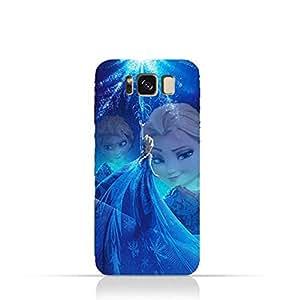 Samsung Galaxy S8 TPU Protective Silicone Case with Frozen Elsa Design