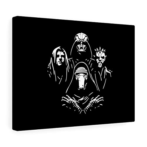 Sith Bohemian Rhapsody - Star Wars Inspired Fans Museum Grade Canvas Gallery Wraps - Printed in The USA ()