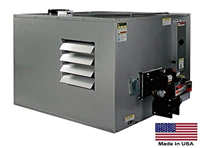 Waste Oil Heater Commercial Ductable 300,000 Btu Incl Tr Vent Kit 215 Gal Tank