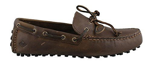 Sperry Top-Sider Men's Hamilton Driver 1-Eye,Brown/Brown Leather,US 8.5 M