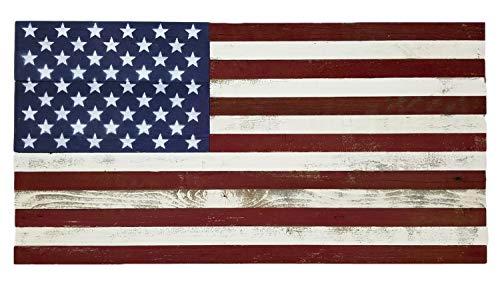 - Alder & Elder Rustic Wood American Flag 18