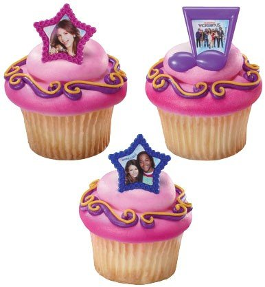 24 pc DecoPac Sesame Street Giggle Together Cupcake Rings