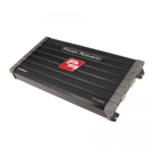 - Power Acoustik CB1-8000D 8000W Class D Amplifier