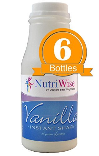 NutriWise - Vanilla High Protein Diet Shake (6/bottles) by NutriWise by NutriWise