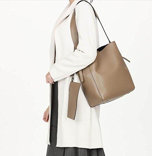Retro Totes Hombro Femenino De Brown De Bag Messenger Handle Mano Bags Bolso Bolso Brown GSHGA Top ItvSqxn
