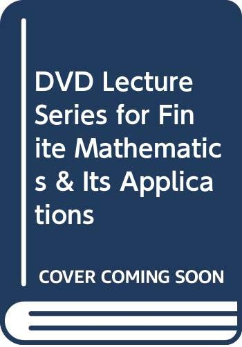 DVD Lecture Series for Finite Mathematics & Its Applications