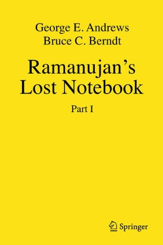 Ramanujan's Lost Notebook: Part I (Pt. 1)