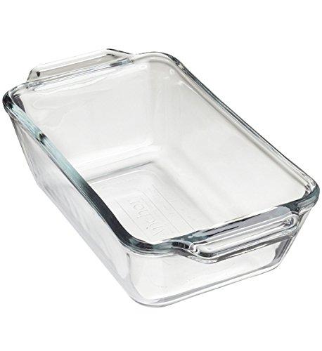 HomyDelight Glass Loaf Pan 3 lbs 11.25 3