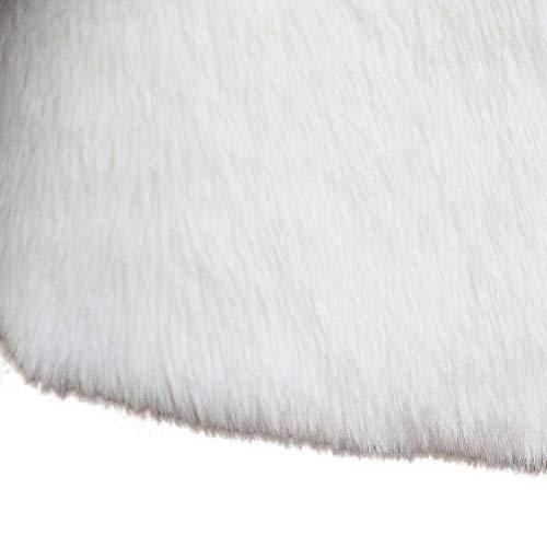 Chaqueta Abrigos Termica Ocasional Piel Mangas Ropa Chalecos Mujer Elegantes Chaleco Blanco Colores Otoño Sin Sintético Cómodo Invierno Suave Sólidos De Moda Vest Espesor Placket PYBxqZ
