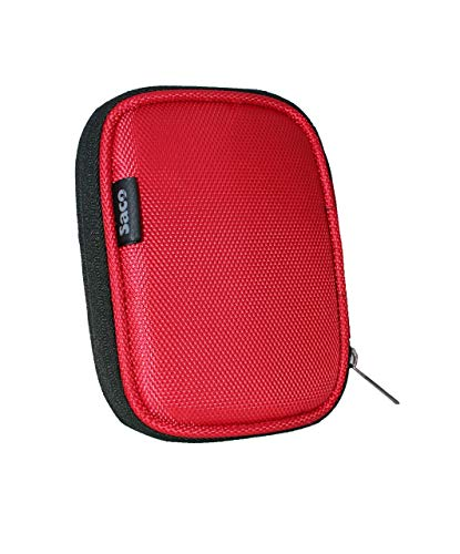 Saco Shock Proof External Hard Disk Protector for Seagate Expansion Falcun 1 TBExternalHardDisk Hard Disk Pouch case Carrying case