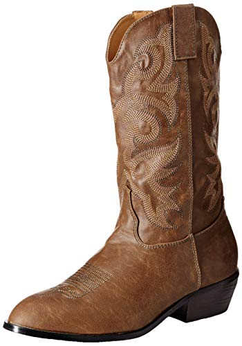 Ellie Shoes Men's 129-CLINT Western Boot, BRWP, M (10-11) Medium US ()