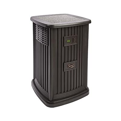 Essick Air Products EP9 800 Pedestal Evaporative Humidifier, Espresso, 3.5-Gal. Water Capacity, Up to 2400 Sq. Ft. Cover