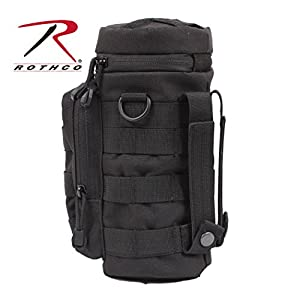 Rothco Molle Water Bottle Pouch, Black