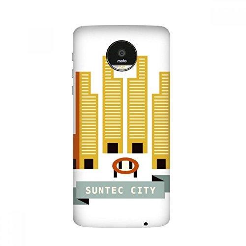 Singapore Suntec City Landmark Moto Z / Z Force / Z2 Magnetic Mods Custom-made Phonecase DIY Moto Style - Singapore Suntec City