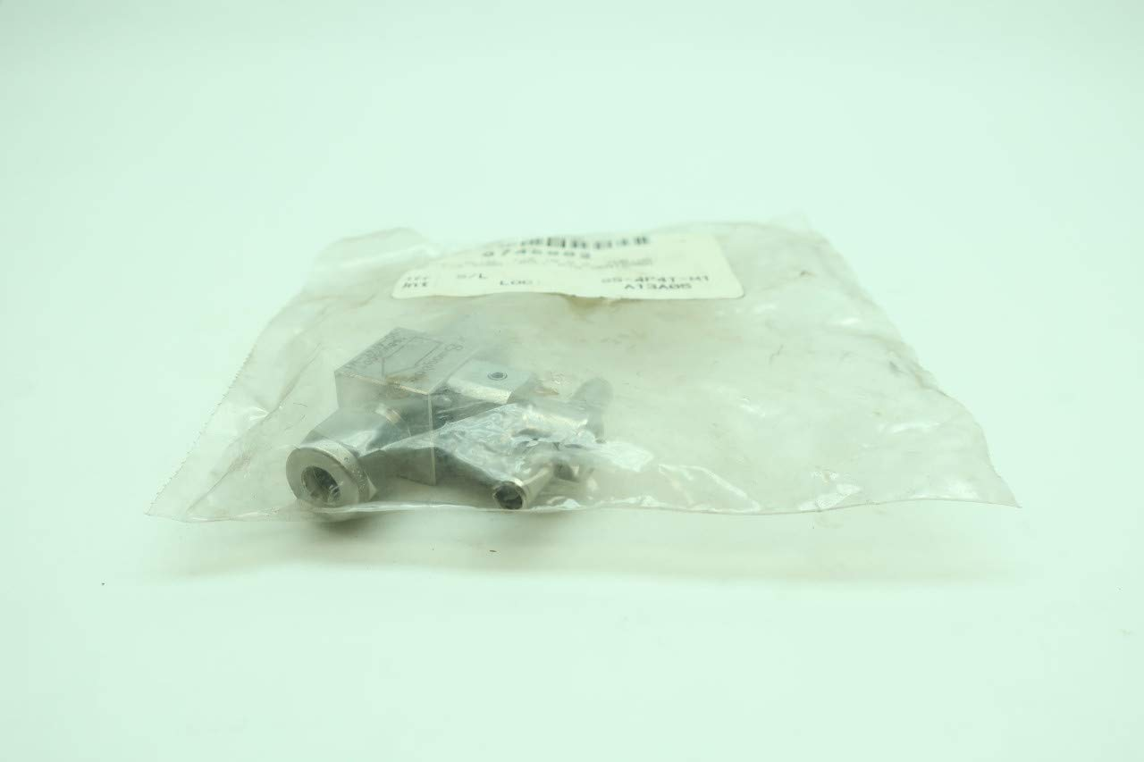 SWAGELOK SS-4P4T-M1 Manual Stainless Plug Valve 1/4IN Tube D648179
