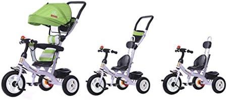 子供の三輪自転車オスとメスの赤ちゃん子供の自転車(1-6歳)ベビーカー ( Size : Titanium empty wheel )