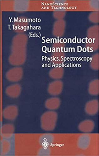 Physics Spectroscopy and Applications Semiconductor Quantum Dots