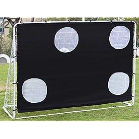 Ubon 3 in 1 Soccer Goal Steel Soccer Nets for Youth Kids Backyard Practice Training
