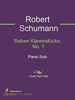 Sieben Klavierstücke, No. 1