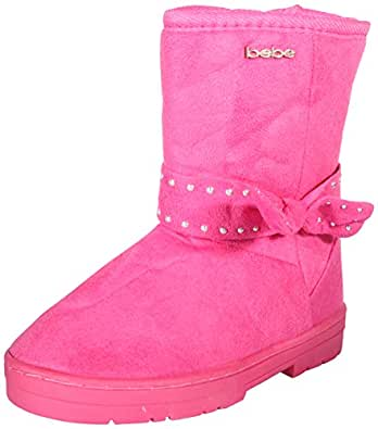 Amazon.com | bebe Girls Winter Boots with Rhinestone