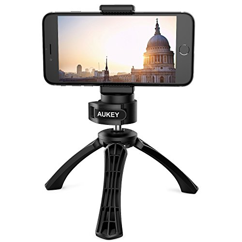 AUKEY iPhone Tripod with Mount, Photo Video Tri...