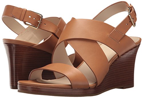 Cole Haan Women's Penelope II Wedge Sandal, Pecan Leather, 7.5 B US by Cole Haan (Image #6)