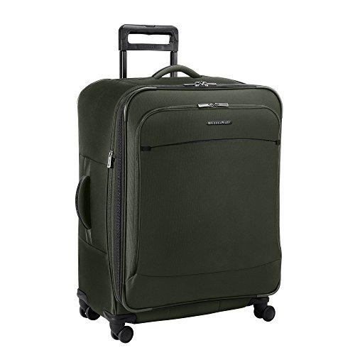 Luggage Riley Tag Briggs & (Briggs & Riley Transcend Expandable Suitcase, Rainforest, Large)