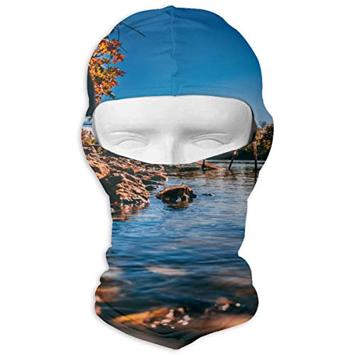 Balaclava Cloud Colorful Countryside Full Face Masks UV Protection Ski Cap Womens Neck Warmer for Hiking ()