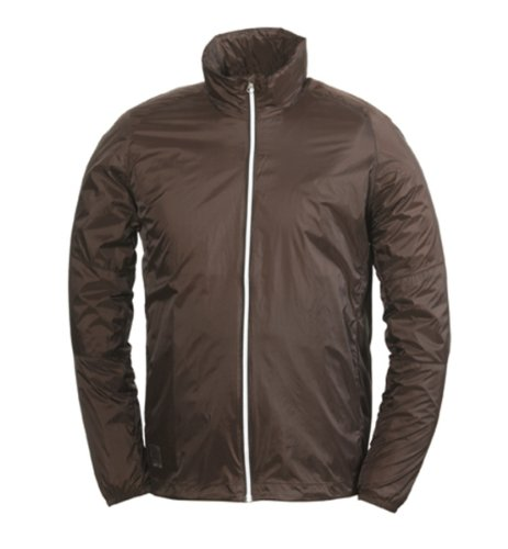 66 Degrees North Men's Gola Light Jacket, Brown, Small