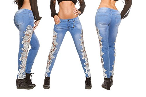 Jeans White Donna Flower Donna Donna Jeans Briskym Briskym Jeans Briskym White Flower qRP8X1