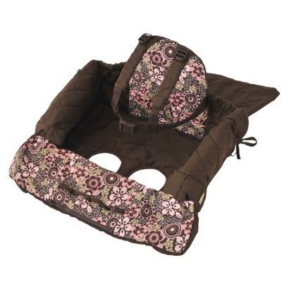 Eddie Bauer Shopping Cart Cover, Floral Print (Discontinued by Manufacturer)