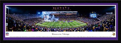 (Minnesota Vikings - TCF Bank Stadium - Blakeway Panoramas NFL Posters with Select Frame)