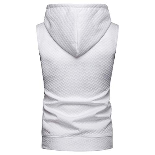 96a9700336be7 Men s Gyms Fitness Hoodie Vest