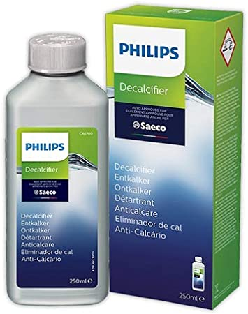 Descalcificador cafeteras SAECO/PHILIPS | SAECO 250 ml CA6700/10: Amazon.es: Hogar