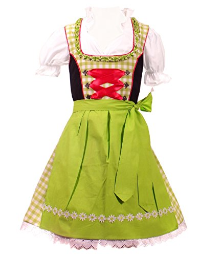 3piece Children Dirndl KD-218/146 (German Dirndl Girls)