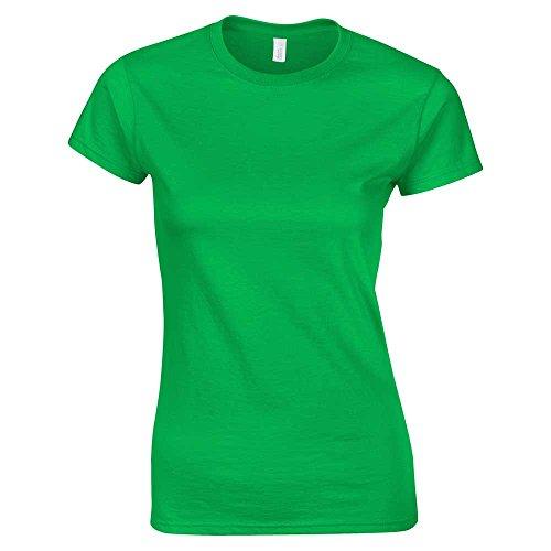 Softstyle Uk 25 Colori irish T Con xxl Green Maglietta 2xl 18 shirt Ad Da Anello Filato S Misure Donna dRSzzv4Zyq