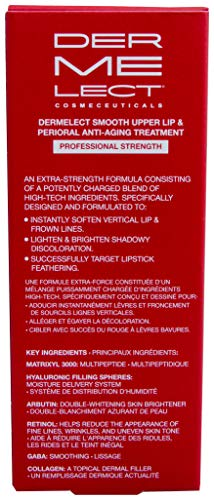 DERMELECT COSMECEUTICALS - Smooth Upper Lip & Perioral Anti-Aging Treatment - Professional Strength (0.5 Ounce / 15 Milliliter) by Dermelect (Image #4)