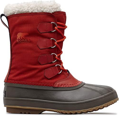 SOREL Men's 1964 Pac Nylon Snow Boot, Rust Red, Cordovan, 13 M US ()
