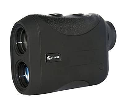 Golf Rangefinder - Range : 1950 , 1312 Yards, +/- 0.33 Yard Accuracy, Laser Rangefinder with Height, Angle, Horizontal Distance Measurement Perfect for Hunting, Golf, Engineering Survey from Uineye