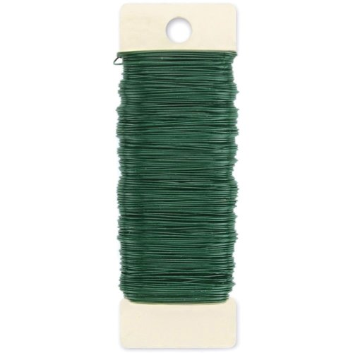Southern Steel & Wire SPW24GN Florist Wire Spool, Green, ...