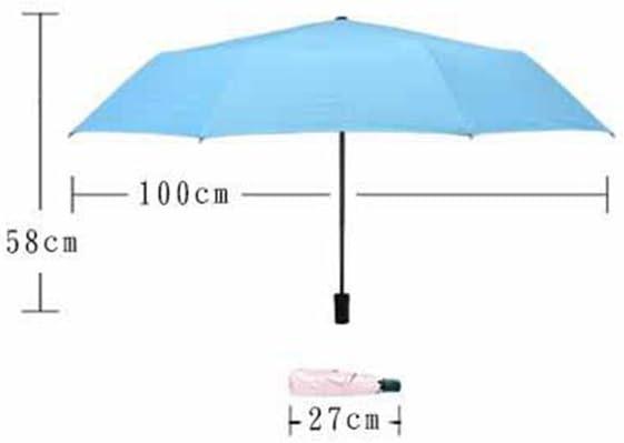 Kaxima Sunny umbrella UV protection 58x100cm solid color vinyl umbrella folding umbrella