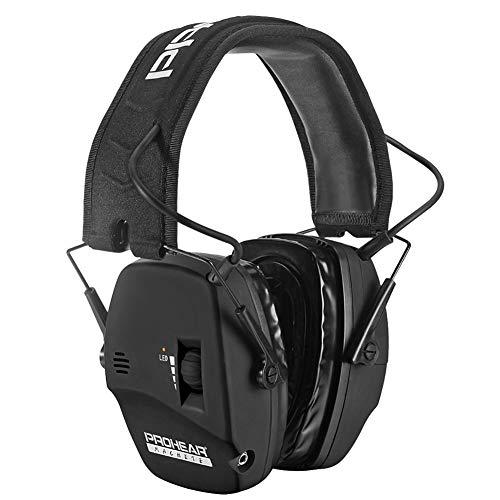 PROHEAR 036 [Mise à Niveau] Casque Anti Bruit de Tir Electronique Silicone Coussinets d'oreille Remplaçable,SNR 28dB… 1