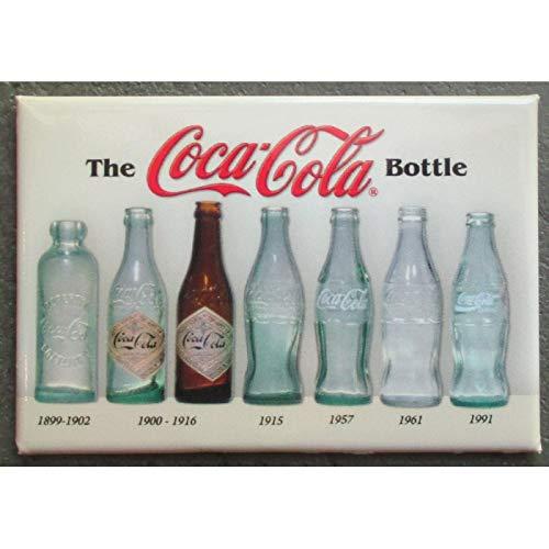 hotrodspirit - Imán de Coca Cola, 8 x 5,5 cm, Diferentes Botellas ...