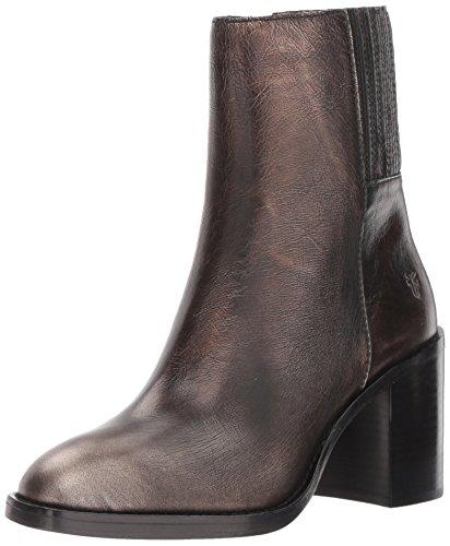 Frye Womens Pia Short Chelsea Boot Bronze / Metallic