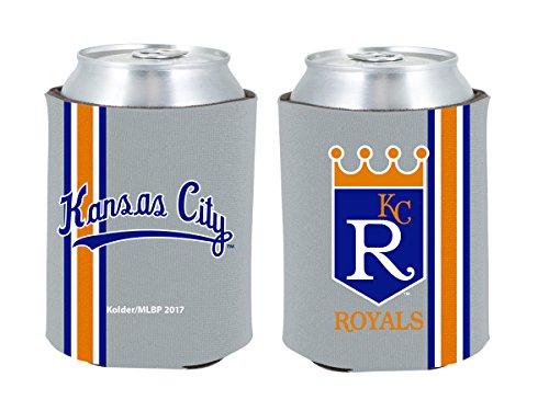 Kansas City Royals 2-PACK CAN Retro THROWBACK Koozie Neoprene Holder Cooler Coolie Baseball ()